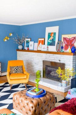 Lovely Colorful Living Room Decor Ideas For Summer 36