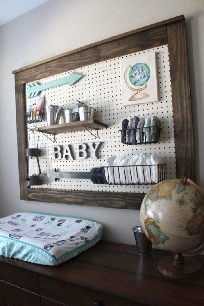Modern Storage Ideas For Baby Boy 27