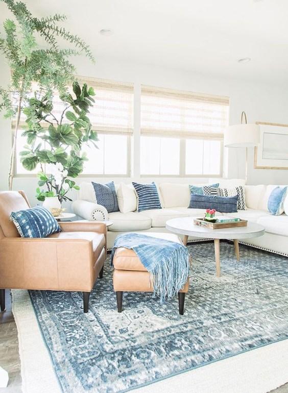 Splendid Coastal Living Area Ideas For Home Look Fabulous 04