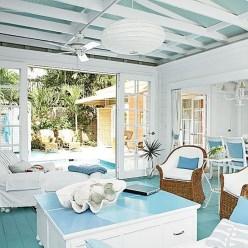 Splendid Coastal Living Area Ideas For Home Look Fabulous 33