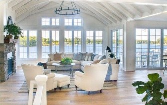 Splendid Coastal Living Area Ideas For Home Look Fabulous 39