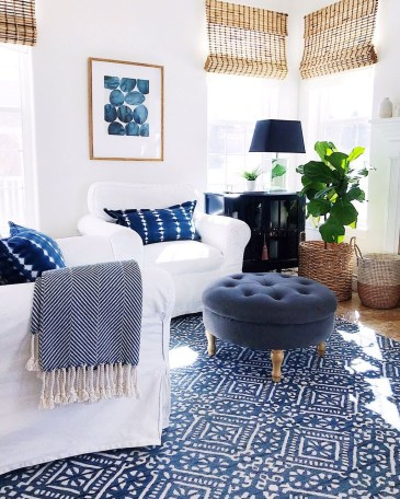 Splendid Coastal Living Area Ideas For Home Look Fabulous 41