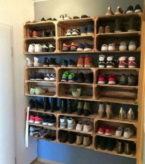 Stunning Shoes Storage Ideas You Can Do It 07