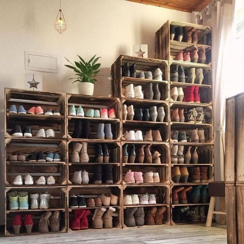Stunning Shoes Storage Ideas You Can Do It 35