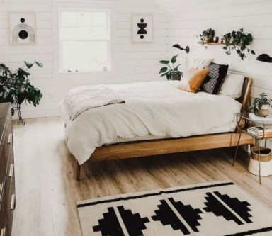 Stylish Bedroom Decoration Ideas For Your Apartment 55