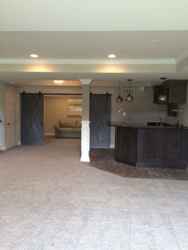 Adorable Basement Remodel Ideas For Upgrading Your Room Design 16