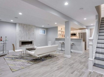 Adorable Basement Remodel Ideas For Upgrading Your Room Design 18