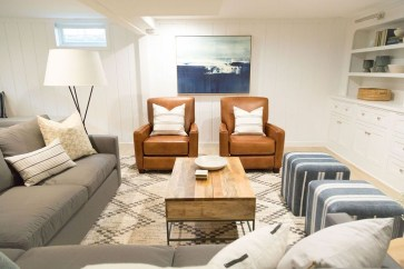 Adorable Basement Remodel Ideas For Upgrading Your Room Design 27