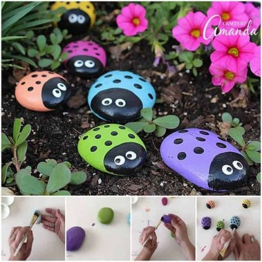 Affordable Diy Painted Rock Ideas For Home Decoration 37