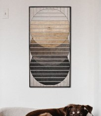 Affordable Geometric Wood Wall Art Design Ideas For Your Inspiration 03