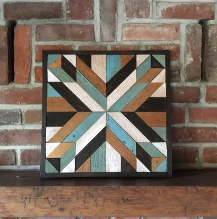 Affordable Geometric Wood Wall Art Design Ideas For Your Inspiration 46