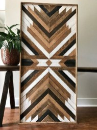 Affordable Geometric Wood Wall Art Design Ideas For Your Inspiration 50