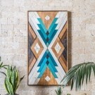 Affordable Geometric Wood Wall Art Design Ideas For Your Inspiration 52