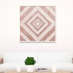 Affordable Geometric Wood Wall Art Design Ideas For Your Inspiration 53