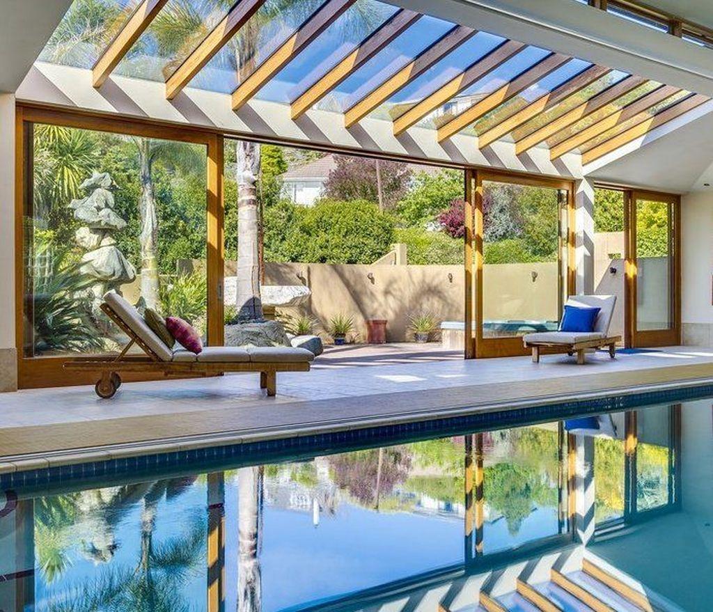 Awesome Backyard Patio Ideas With Beautiful Pool 19