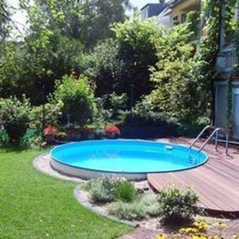 Awesome Backyard Patio Ideas With Beautiful Pool 39