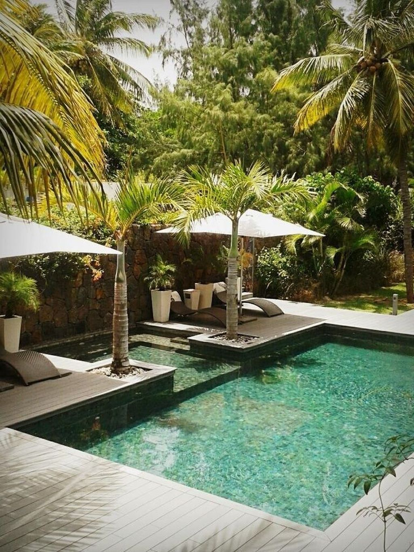 Awesome Backyard Patio Ideas With Beautiful Pool 51