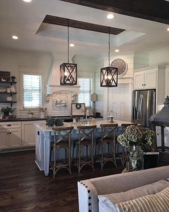 Awesome Farmhouse Kitchen Ideas On A Budget 60
