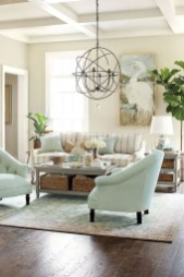 Best Coastal Living Room Decorating Ideas 19