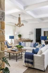 Best Coastal Living Room Decorating Ideas 29