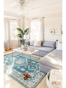 Best Coastal Living Room Decorating Ideas 37