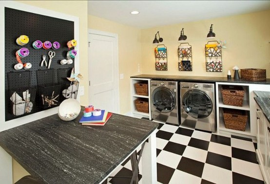 Best Small Laundry Room Design Ideas For Summer 2019 06