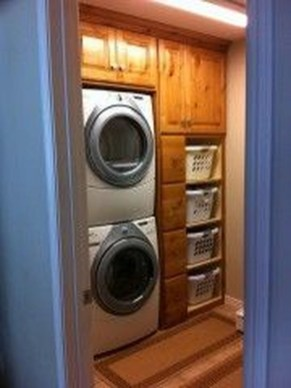 Best Small Laundry Room Design Ideas For Summer 2019 24