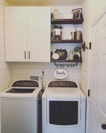 Best Small Laundry Room Design Ideas For Summer 2019 44