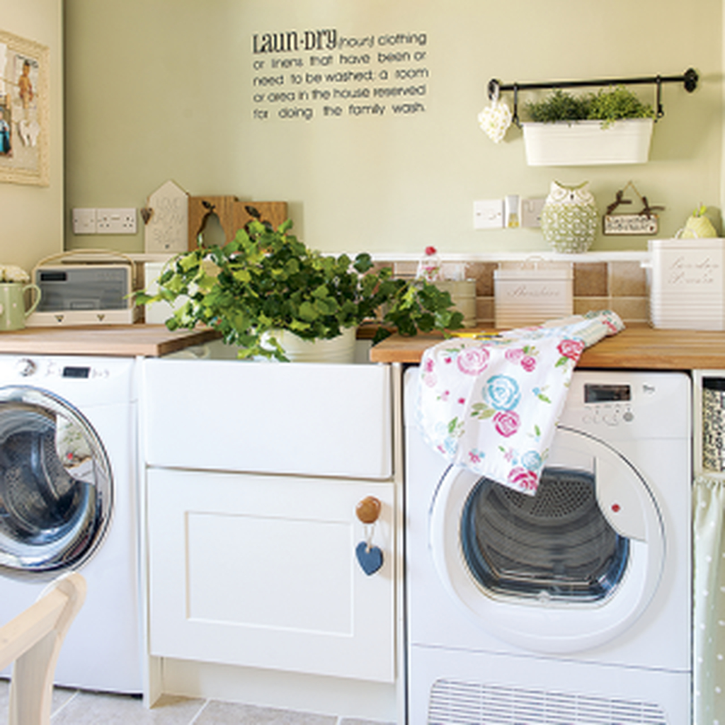 20 best small laundry room design ideas for summer 2019 on best laundry room designs id=73927