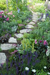Classy Garden Path And Walkway Design And Remodel Ideas 22