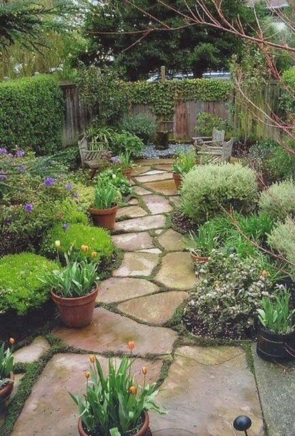 Classy Garden Path And Walkway Design And Remodel Ideas 25