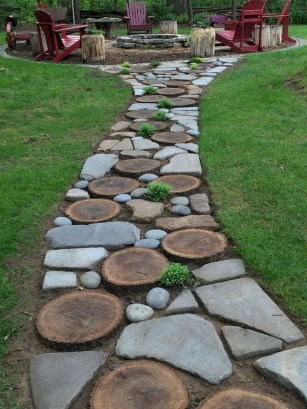 Classy Garden Path And Walkway Design And Remodel Ideas 35