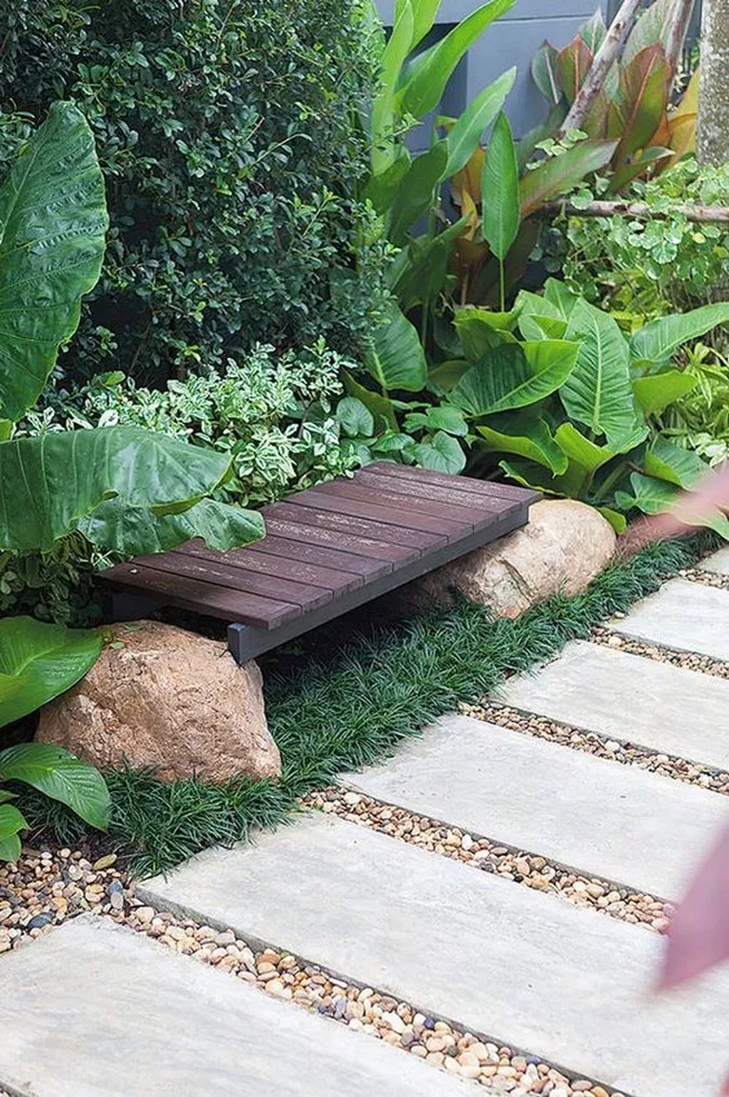 Classy Garden Path And Walkway Design And Remodel Ideas 38
