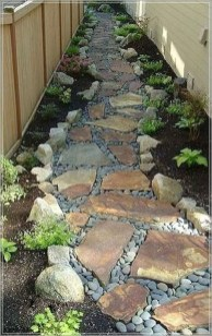 Classy Garden Path And Walkway Design And Remodel Ideas 48
