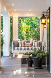 Cozy Small Porch Design Ideas To Try Right Now 27