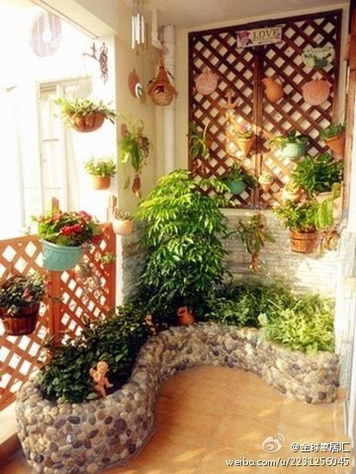 Gorgeous Indoor Balcony Design Ideas To Enjoy Your Time 39