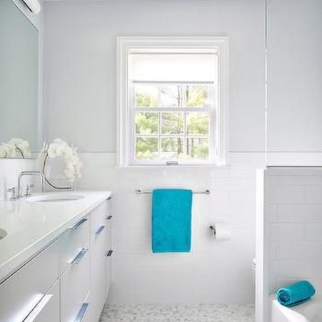 Inspiring Bathroom Decor Ideas With Turquoise Color To Consider 01
