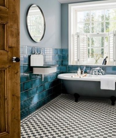 Inspiring Bathroom Decor Ideas With Turquoise Color To Consider 03