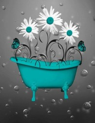 Inspiring Bathroom Decor Ideas With Turquoise Color To Consider 17