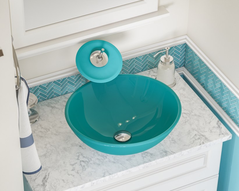 Inspiring Bathroom Decor Ideas With Turquoise Color To Consider 26
