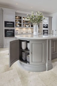 Magnificient Kitchen Cabinet Curtain Ideas To Look Stunning 01