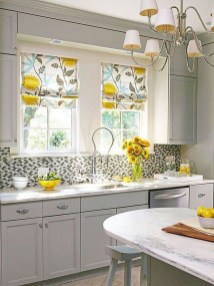 Magnificient Kitchen Cabinet Curtain Ideas To Look Stunning 03
