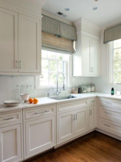 Magnificient Kitchen Cabinet Curtain Ideas To Look Stunning 08