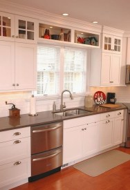 Magnificient Kitchen Cabinet Curtain Ideas To Look Stunning 14