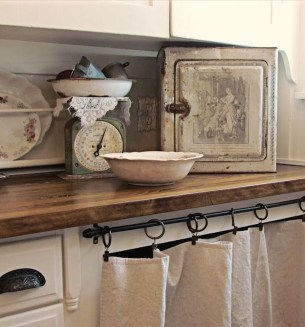 Magnificient Kitchen Cabinet Curtain Ideas To Look Stunning 34