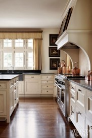 Magnificient Kitchen Cabinet Curtain Ideas To Look Stunning 40