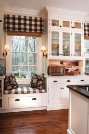 Magnificient Kitchen Cabinet Curtain Ideas To Look Stunning 47