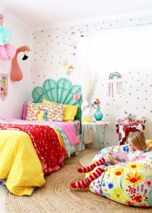 Modern Colorful Bedroom Décor Ideas For Kids 09