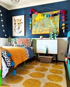Modern Colorful Bedroom Décor Ideas For Kids 10