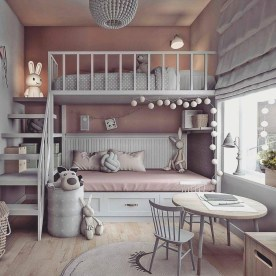 Modern Colorful Bedroom Décor Ideas For Kids 19